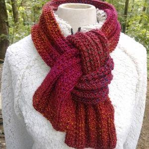 ❤️ Knit Winter Scarf #hundrefsofscarves